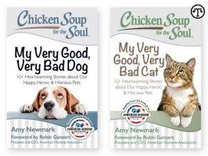 Taking the good with the bad, two heartwarming books look at the lives and love of cats and dogs.