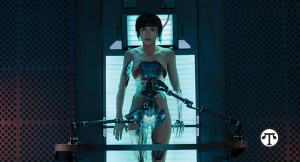 A stunning new movie starring Scarlett Johansson explores the possibility of merging technology with the human body.
