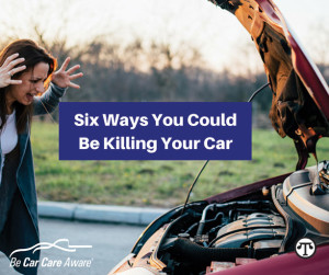 Be good to your car and it will be good to you.