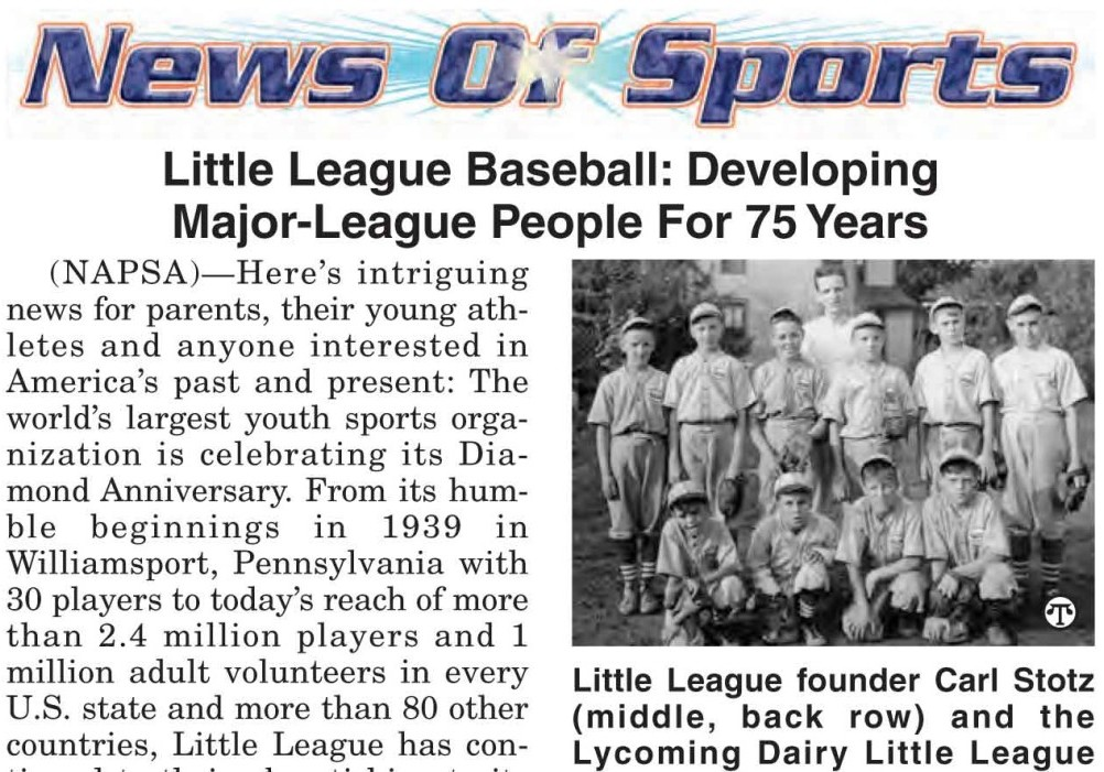 Charity: Little League
